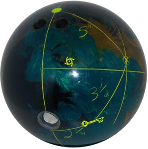 Brian Halstrom Storm Virtual Energy Bowling Ball